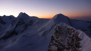 Roccia Nera kurz vor Sonnenaufgang